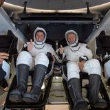 "NASA astronaut on SpaceX Crew Dragon return: ""Sounded like an animal"""