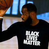 LeBron James laughs off Trump's criticism of NBA players