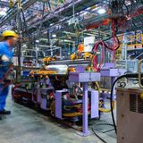 US manufacturing soars to a 15-month high