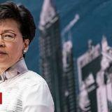 US imposes sanctions on Hong Kong chief executive