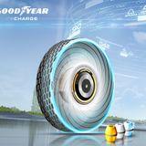 Goodyear's biodegradable concept tire regenerates its tread