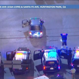 Suspected tagger, passenger arrested in Huntington Park after leading police on nearly 2-hour pursuit