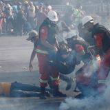 Almost 240 people injured, 1 officer killed in Beirut protests amid clashes, reports of fire & police shooting