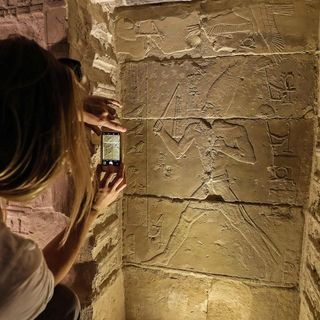 Egypt's oldest pyramid re-opens to tourists including its hidden burial chamber