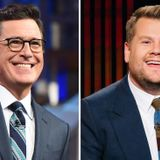 Stephen Colbert, James Corden Set Return to Studio Taping