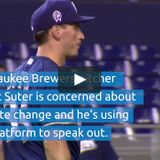 Milwaukee Brewers pitcher Brent Suter endorses the Energy Innovation Act!