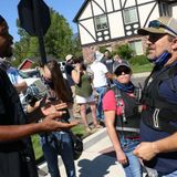 Protesters clash in Minden after sheriff's statement on Black Lives Matter