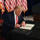 Trump takes executive action on virus relief, Pelosi calls move 'absurdly unconstitutional'