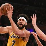 See JaVale McGee score the first Los Angeles Lakers basket of the NBA restart