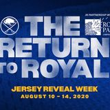 Sabres announce Jersey Reveal Week in partnership with Roswell Park