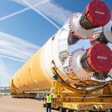 NASA's future monster rocket is once again over budget and behind schedule