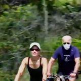 Joe Biden's Fox-Trolling Mask-Wearing Bike Ride Sets Twitter Ablaze: 'Point to Biden'