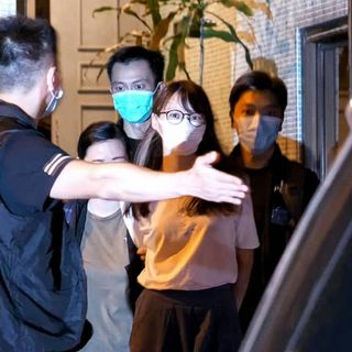 Japanese come out in support of arrested Hong Kong activist