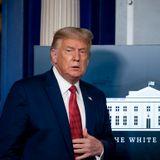 Trump unloads in morning interviews as U.S. struggles to tame virus