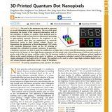 KERI creates a super-high-resolution nano display based on the 3D printing close to virtual reality