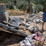 Israel strikes Gaza targets after arson balloons launched