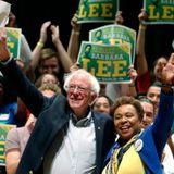 California progressives' mantra for Democratic convention: 'Challenge Biden'