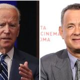Watch: Biden Repeatedly Forgets When He Was Inaugurated as VP During Fundraiser with Tom Hanks