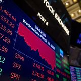 Worst day on Wall Street since 1987 as coronavirus fears spread