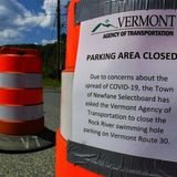 Crowds undeterred as Newfane closes parking near swimming holes