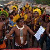 Amazon indigenous protesters vow indefinite roadblock