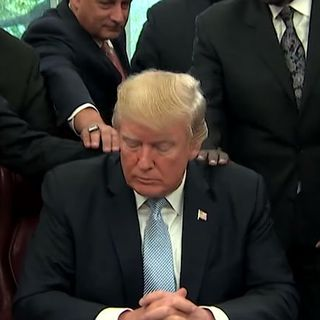 Trump declares coronavirus 'National Day of Prayer' — and suggests looking to God for 'protection'