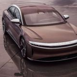 Lucid Motors Debuts $80,000 Luxury All-Electric Vehicle With 500-Mile Range