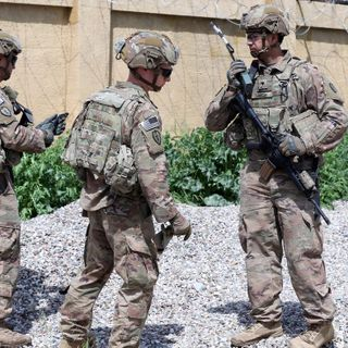 U.S. Says It Will Cut Number Of Troops In Iraq By Nearly Half This Month
