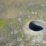 Massive mystery holes appear in Siberian tundra — and could be linked to climate change