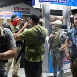 The Thin Blue Line Between Violent Pro-Trump Militias and Police
