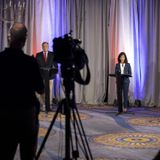Susan Collins and Sara Gideon clash over health care and Trump in first US Senate debate