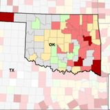 Oklahoma jumps to 4th in U.S. for COVID-19 positivity, 9th in new cases