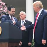 Mike Pence Urges 'Common Sense' at Coronavirus News Conference — as Trump Shakes People's Hands
