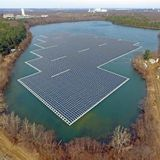 Something's Up With Floating Solar Panels And Hydropower