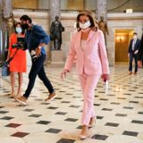 Pelosi says House will remain in session until lawmakers deliver rescue package