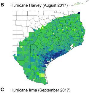 Political storms: Emergent partisan skepticism of hurricane risks