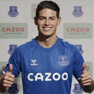 Rodriguez joins Everton from Real