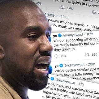 Kanye West Insists on Black Ownership of Music Masters in New Rant