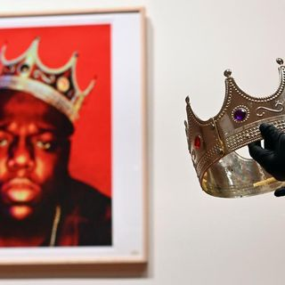Notorious B.I.G.'s plastic crown sells at auction for almost $600K