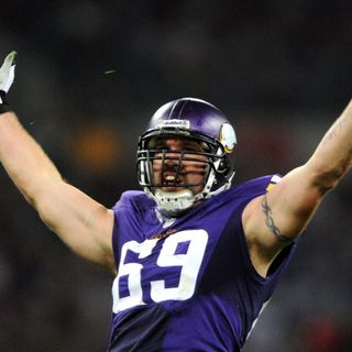 Now eligible, ex-Vikings DE Jared Allen expects last stop to be Canton