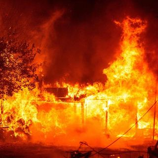 Couple who died in California fire were ready to evacuate but reconsidered after 'erroneous information'