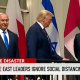 CNN Criticizes Israel, Arab Leaders For Shaking Hands In The Middle Of A Pandemic