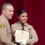 Hero L.A. cop who saved partner in shooting is mother, ex-librarian and recent police graduate