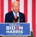 Joe Biden plays 'Despacito' on his phone in appeal to Florida's Hispanic voters
