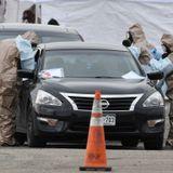 Drive-thru coronavirus testing site in Denver closes early as Colorado tops 100 cases