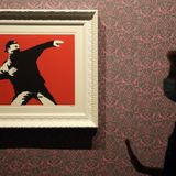 Banksy loses trademark for iconic work created in Jerusalem
