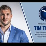 Tim Tebow To Be Keynote Speaker For Florida 2020 Annual Human Trafficking Summit