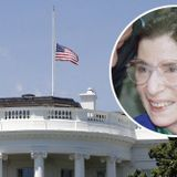 Trump Orders U.S. Flags Flown at Half-Staff to Honor Justice Ginsburg