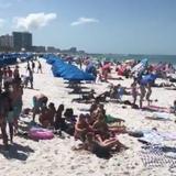 Thousands flock to Florida beaches, ignoring coronavirus concerns