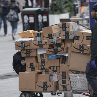 The coronavirus crisis is what Amazon was made for